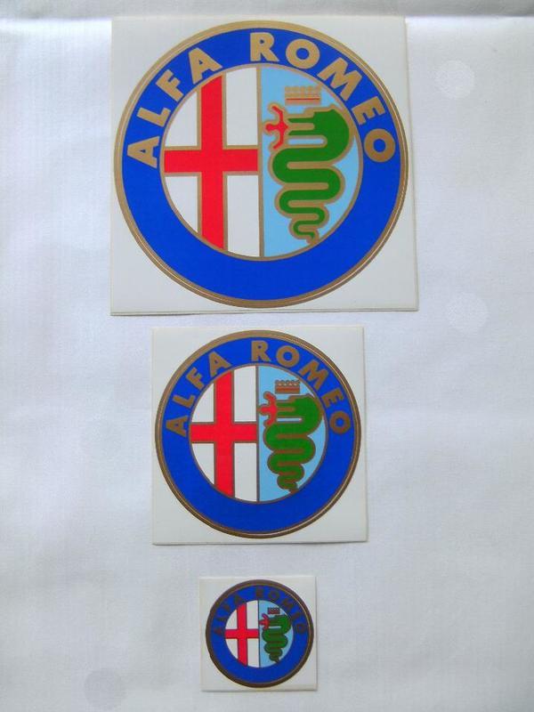 Alfa Romeo Aufkleber- » Alfa Romeo-Teile