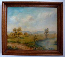 Kunst, Gemälde, Plastik - ALLES VB 3 alte Ölgemälde