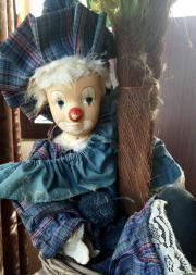 alte Porzellan Clown