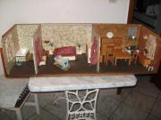 Alte Puppenküche mit