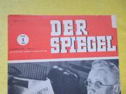 alte Rarität von Spiegel- Zeitschrift
