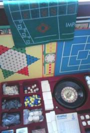 alte Vintage Spielesammlung