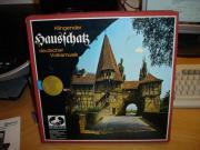 alte Volksmusik auf 4 LPs