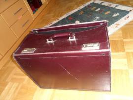 Taschen, Koffer, Accessoires - Alter Pilotenkoffer mit Gebrauchsspuren