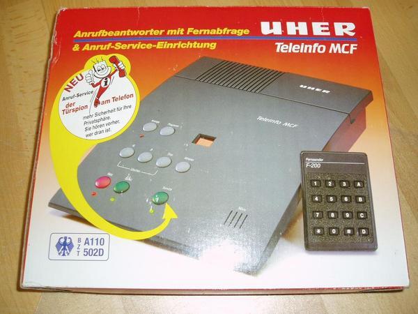 Anrufbeantworter Uher Digital MCF