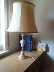 antik Schirm Lampe