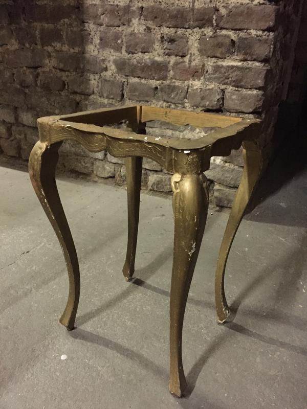 Antik Tisch Untergestell Couchtische