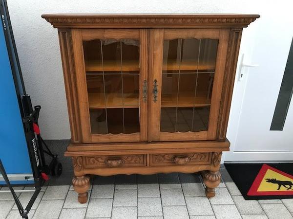 Antiker Schrank aus Vollholz zu verkaufen in Bürstadt - Schränke ...
