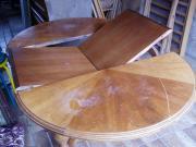 Antiquität kirschbaumfarbiger Tisch