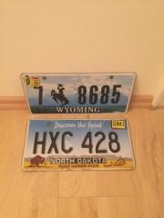 Autokennzeichen Utah USA original und