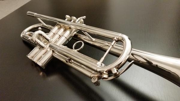 B Trompete Schilke S32 versilbert