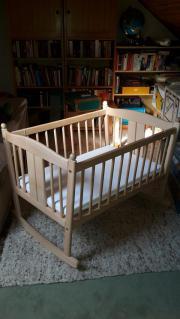 babywiege holz kinder baby spielzeug g nstige angebote finden. Black Bedroom Furniture Sets. Home Design Ideas