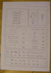 ... Bad, Einrichtung Und Geräte   Badezimmerschrank Mit 4 Schubladen  Badmöbel Weiß ...