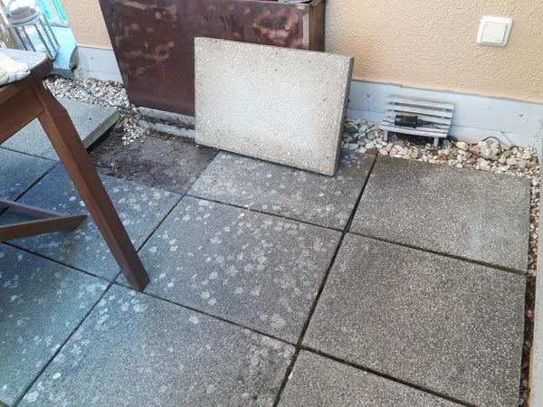 Betonplatten Stück In Darmstadt Sonstiges Für Den Garten - Betonplatten 100 x 40