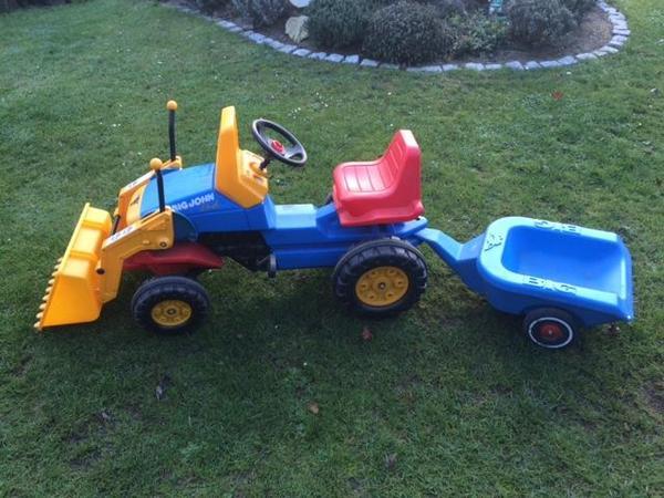 big john 2nd traktor in f rth kinderfahrzeuge kaufen und. Black Bedroom Furniture Sets. Home Design Ideas