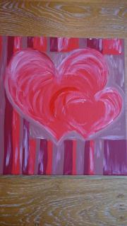 Bild mit 2 Herzen auf
