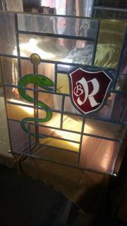 Bleiglasfenster,Medizin,Heilkunde,
