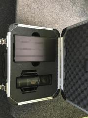 Brauner Röhrenmikrofon