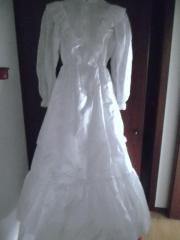 Braut Blumenmädchen Kleid Kommunionkleid Weiss