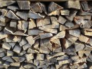 Brennholz trocken Buche und Weichholz