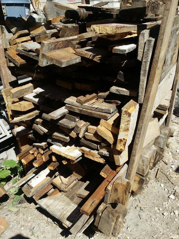 Rustikale Bretter bretter dielen altholz massivholz rustikal brennholz in mannheim