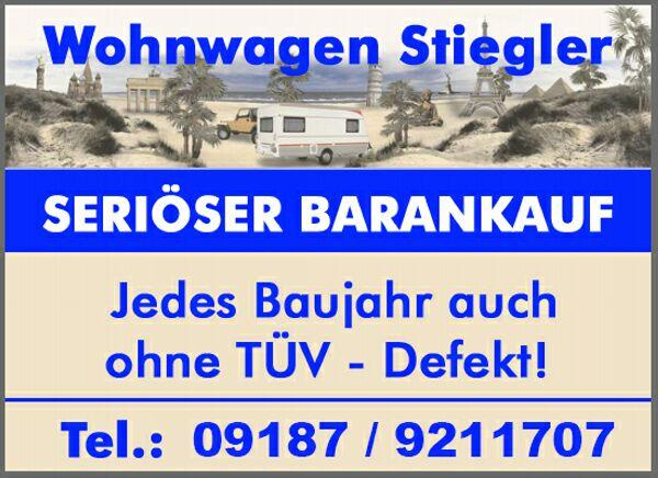 Bundesweiter Ankauf von » Wohnwagen