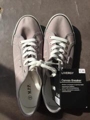 Canvas Sneaker grau neu 44