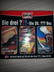 CD Drei Fragezeichen - Box 20
