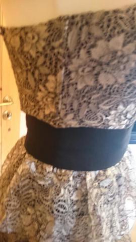 Festliche Abendbekleidung, Damen und Herren - Coctailkleid Ballkleid Abendkleid Beige Gold