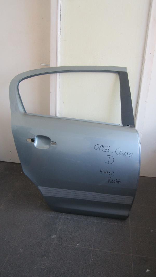 CORSA D TEILE Tür hinten rechts/Motorhaube/Scheinwerfer/Kotflügel ...