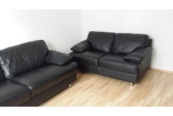 schlafsofa leder schwarz m belideen. Black Bedroom Furniture Sets. Home Design Ideas