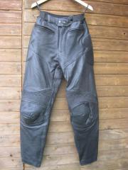 Damen-Biker-Lederhose(