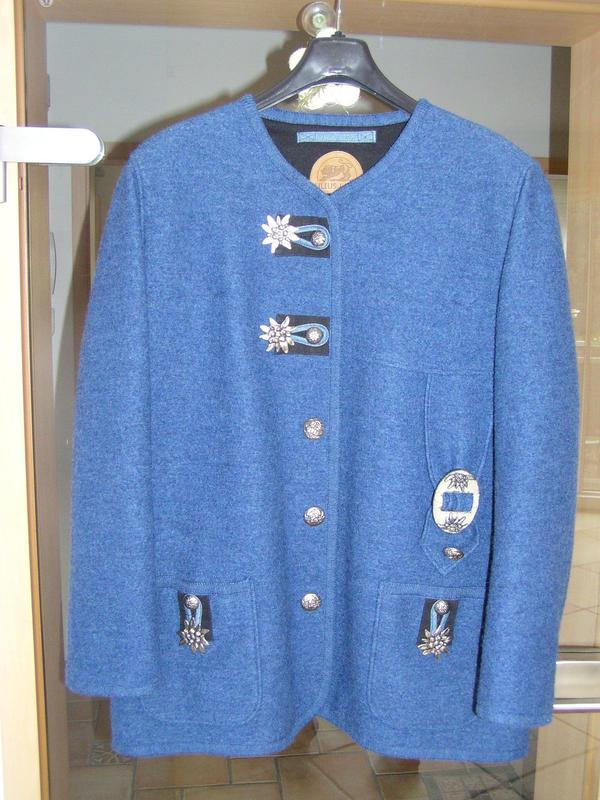Damen Trachtenjacke blau » Damenbekleidung