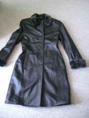 Damenbekleidung Mantel Kunstleder