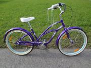 Damenrad Beachcruiser Fahrrad