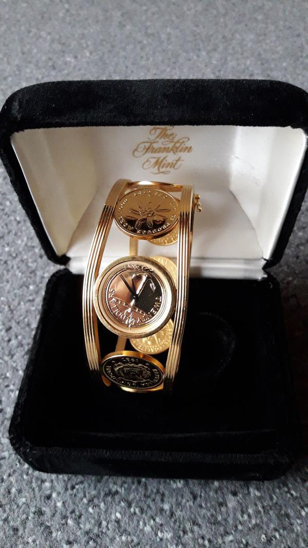 Damenuhr Franklin Mint » Uhren