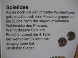 Das Geheimnis der Pyramide Brettspiel: Kleinanzeigen aus Birkenheide Feuerberg - Rubrik Gesellschaftsspiele