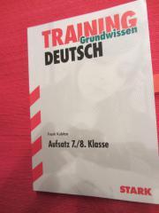 Deutsch Training Aufsatz u Aufsatzstil