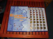Deutschland Kursmünzen 2002 im Album