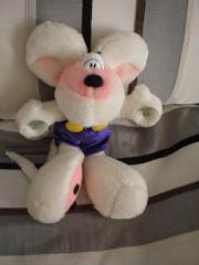 Diddl-Maus mit Saugnäpfen
