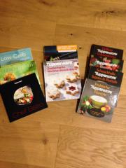 diverse Kochbücher von
