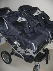 Kinderwagen Drillinge