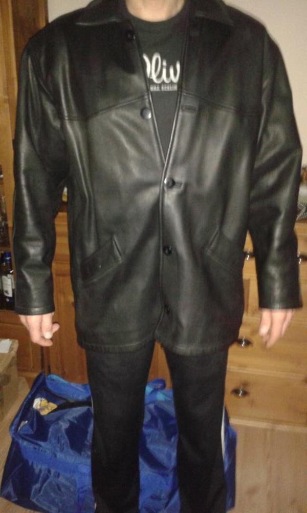 Echte schwere Lederjacke » Leder-/Pelzbekleidung, Damen und Herren
