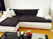 eckcouch couch schwarz polster sessel couch aus mnchen westpark - Schwarz Wei Sofa