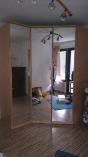 Eckkleiderschrank mit spiegel  Eckkleiderschrank Spiegel - Haushalt & Möbel - gebraucht und neu ...