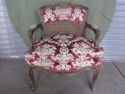 Edler Polster-Sessel Stuhl antiquarisch Barock