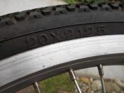 Einrad-Laufrad 20