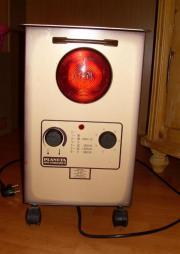 elektroheizung planeta infra stahlkamin rotlichtlampe. Black Bedroom Furniture Sets. Home Design Ideas