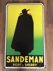 Emailschild Sandeman datiert