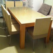 Essgruppe Tisch + 6